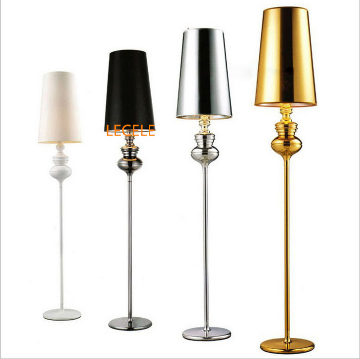 Hot sale new modern floor lamp villas bedside standing for Floor lamps for living room