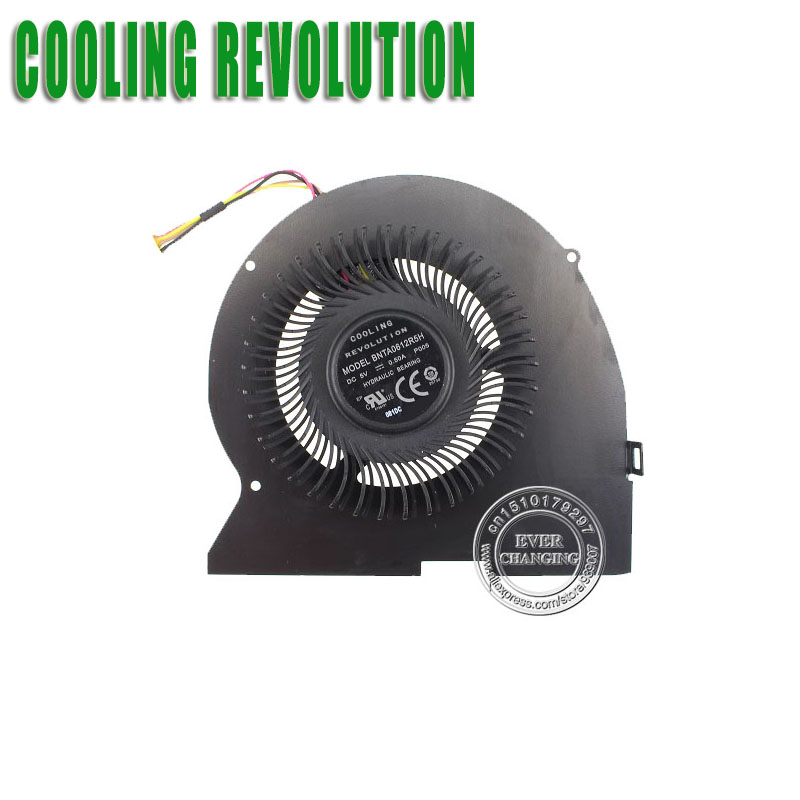 COOLING REVOLUTION New For Lenovo IdeaPad Y510P Y510PT-ISE Y510P-IFI Y510PA CPU Cooling Fan BNTA0612R5H