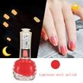 1pcs 10ml BK Brand Luminous Nail Polish Glow In The Dark Lacquer Professional Nail Art Paint Enamel Cosmetics 12 Color Optional