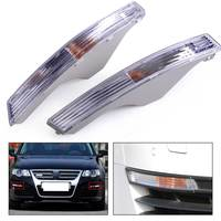 2pcs Front Bumper Corner Turn Signal Light Lamp Lens Indicator 3C0953041E For VW Passat B6 Sedan