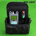 KELUSHI 2 in 1 FTTH Fiber Tool Kit  With Fiber Optical Power Meter +30mw Visual Fault Locator Fiber Optic Cable Tester+Empty bag