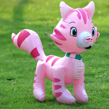 Large inflatable lovely strawberry cat Inflatable toys the Cat animal for children