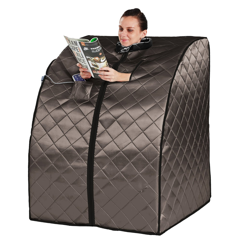 Far Infrared Sauna Negative Ion Detox Portable box Serene Life Portable Infrared Home Spa Weight Loss Calories Burned