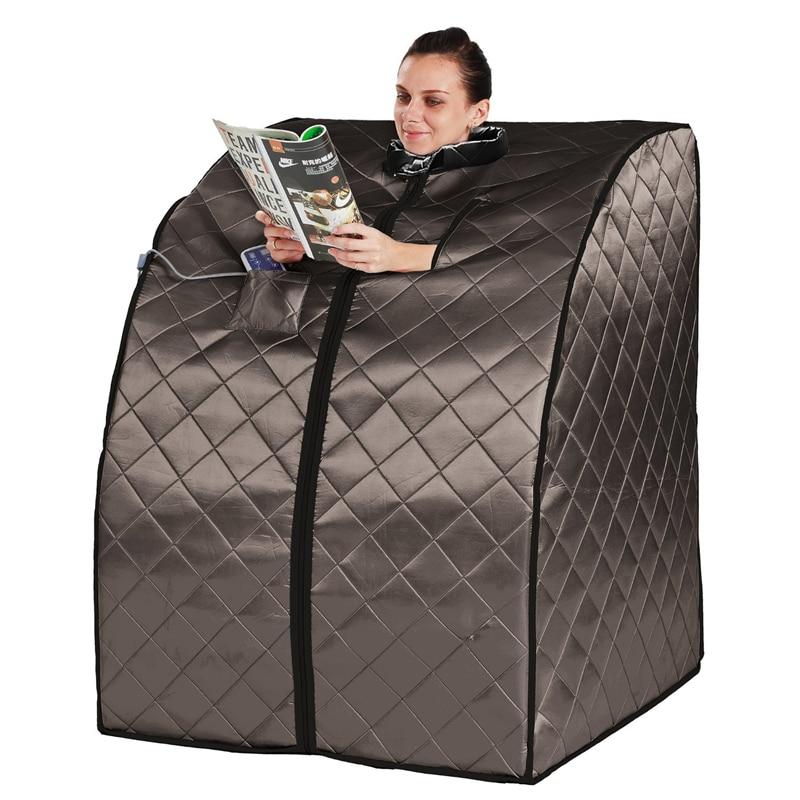 Sauna Infrarouge lointain Ions Négatifs Désintoxication Portable boîte de Vie Serein Portable Infrarouge Accueil Spa Perte de Poids Calories Brûlées