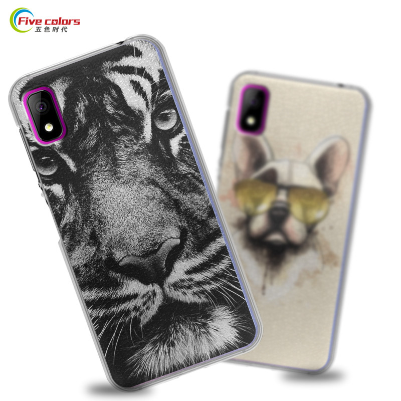 """Coque Elephone A4 Pro Case Hard Plastic Cartoon Painted Back Cover Protective Phone Cases For Elephone A4 Pro 5.85"""" Mobile Phone"""