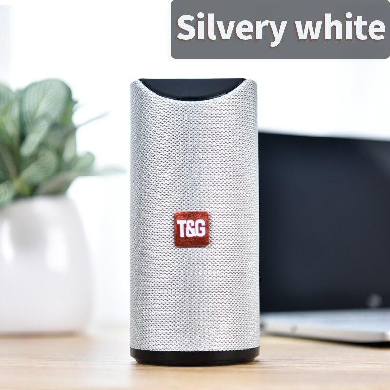silver white