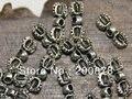 TSB0504 encantos 10 pcs lot Amuletos dorje Vajra Tibetano Cruz de Prata jóias Acessórios