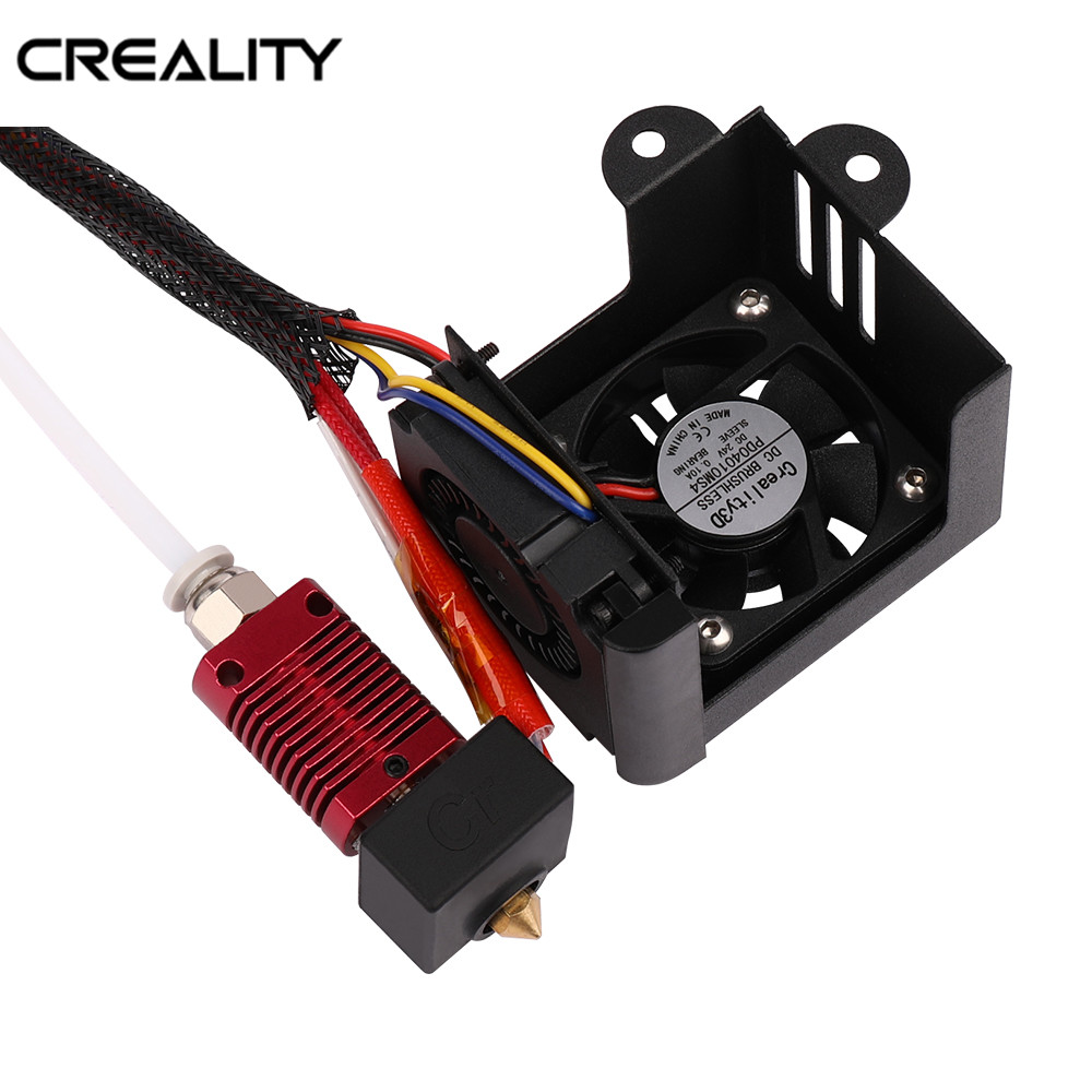 Full Assemble Nozzle Kit Creality 3D Printer Accessories With 2PCS Fans Hotend Kits For CR-10/Ender-3 /CR-10 S5 3D Printer