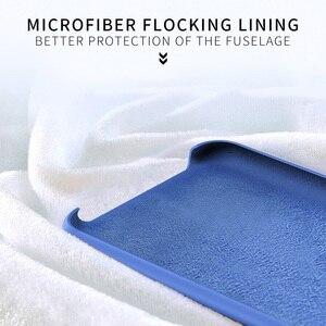 Image 5 - For Xiaomi Poco Pocophone F1 case luxury liquid silicone protective cover super comfortable shell