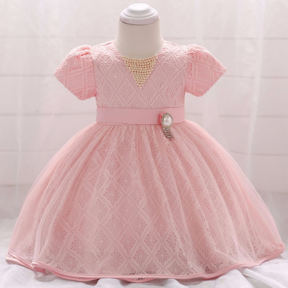 Baby First Birthday Outfit Girl New Born Baby Girls Infant Dress&Clothes Summer Kids Party 1 Birthday Outfits Christening Gown