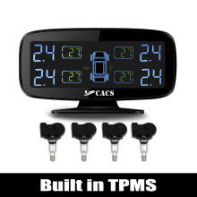 Wireless Tire Pressure Monitoring System TPMS for Car with Built in Sensors Anti interference Tyre abnormal