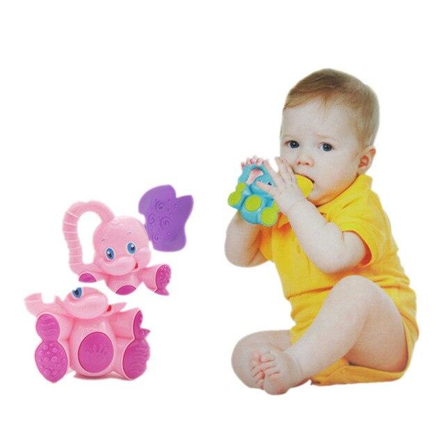 Baby Schleifen Zähne Spielzeug Deer/Elefanten Rasseln Tier ...