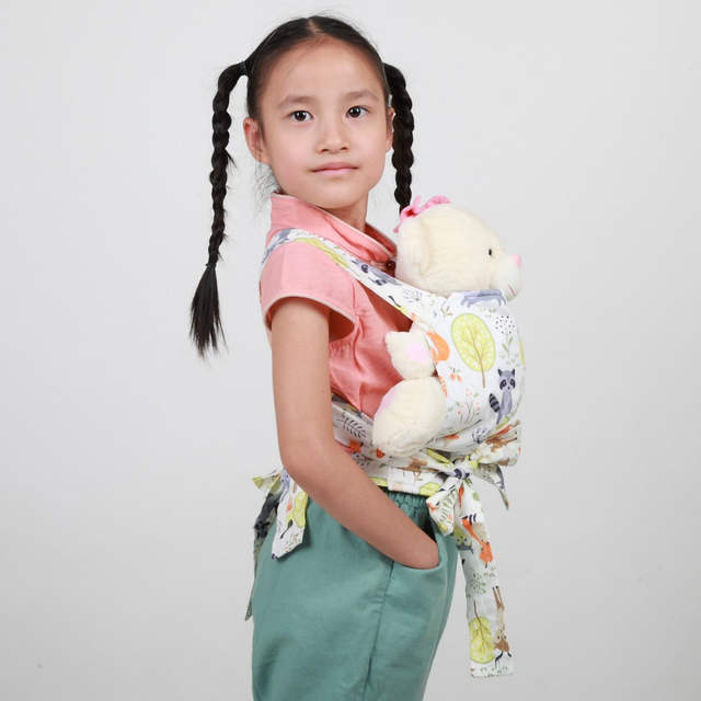 c831419ae3d Online Shop  Sigzagor Baby Doll Carrier Mei Tai Sling Toy For Kids Children  Toddler Gift Front Back