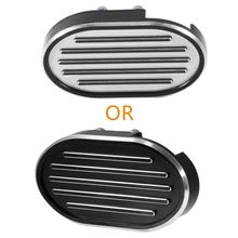 Motorcycle CNC Brake Pedal Pad Cover For Harley Dyna V-Rod Wide Sportster XL 883 XL1200 black motorcycle accessories cnc skull brake clutch levers for harley sportster xr xl1200 883 forty eight 2014 2015 2016