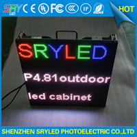 Outdoor Rental Led Screen 4 81mm Video Big Tv Full Color Led Video Wall