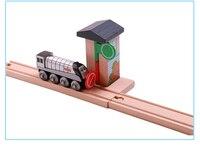 電車のおもちゃトーマス鉄道トラックTTC78トラフィックライトトーマスと友人トラックトーマスブリオおもちゃ男の子用エンジンモデル建物玩具