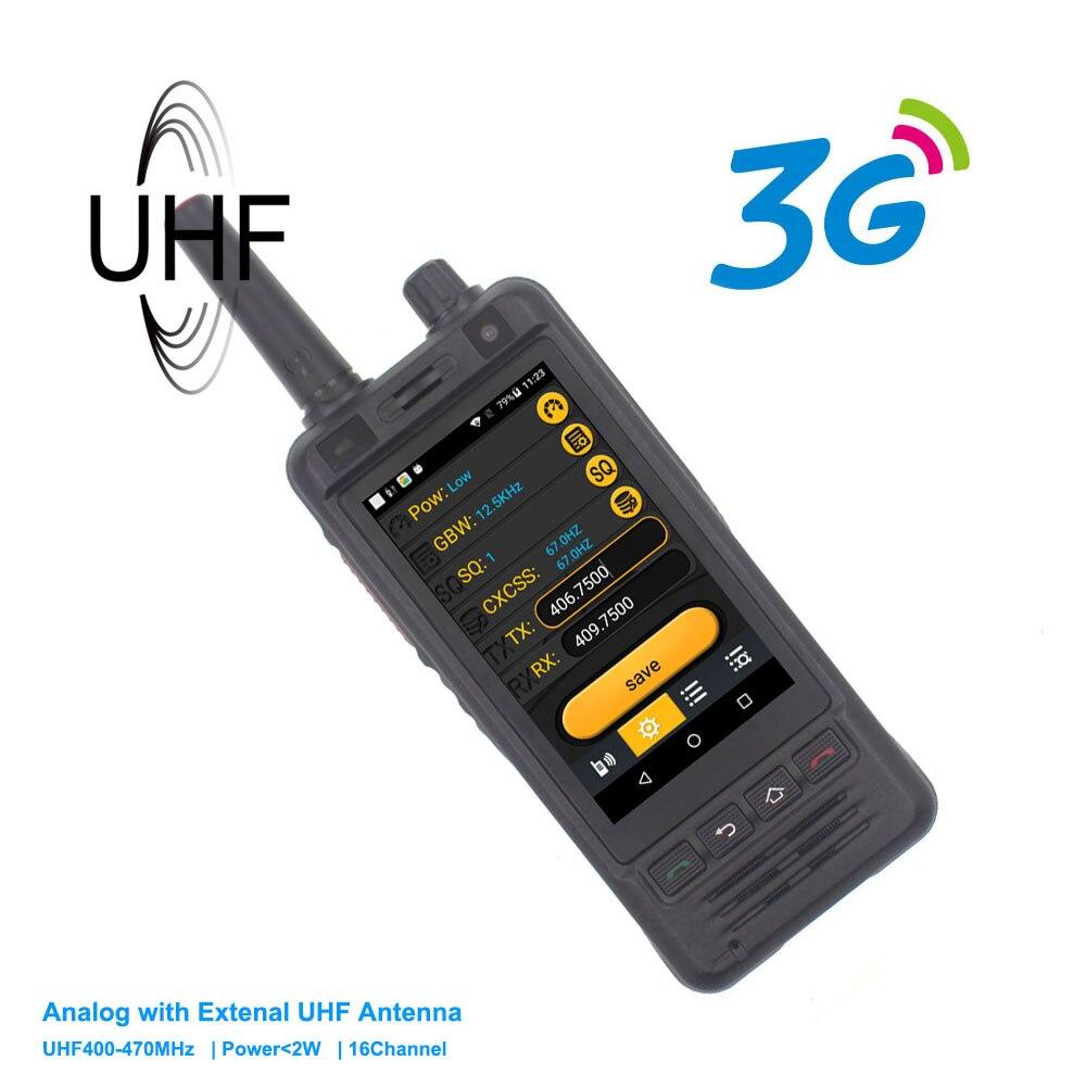 3G Del Telefono Mobile W5 PTT Radio IP67 Impermeabile UHF 400 470MHz Walkie Talkie 5MP Fotocamera Dual SIM android 6 smart phone-in Walkie-talkie da Cellulari e telecomunicazioni su  Gruppo 1
