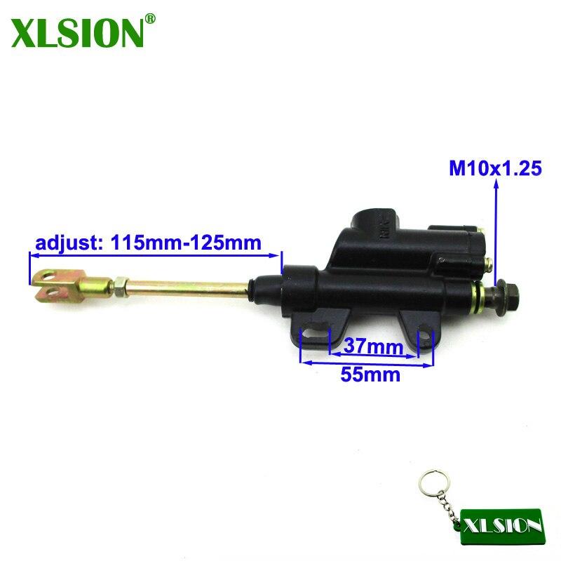 XLSION главный тормозной цилиндр насоса для 110 125 140cc CRF KLX TTR Piranha IMR GIO Demon Atomik SSR YCF Pitster Pit Dirt Bike