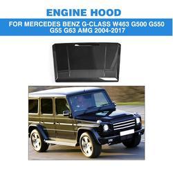 Z włókna węglowego samochodów Auto przednie pokrywa silnika dla Mercedes Benz G-CLASS W463 G500 G550 G55 G63 AMG SUV 04-17 wymiana styl