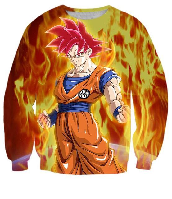 Goku SSG SweatShirt
