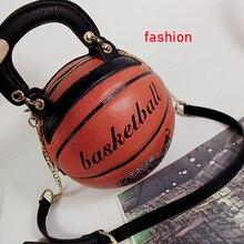 Kobiety panie Messenger torby nowa modna torba kształt koszykówki