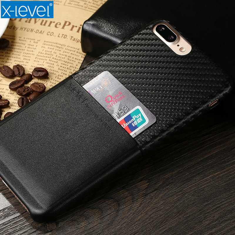 Xlevel Case For IPhone 7 Geometric PU Business Cover For IPhone 7...