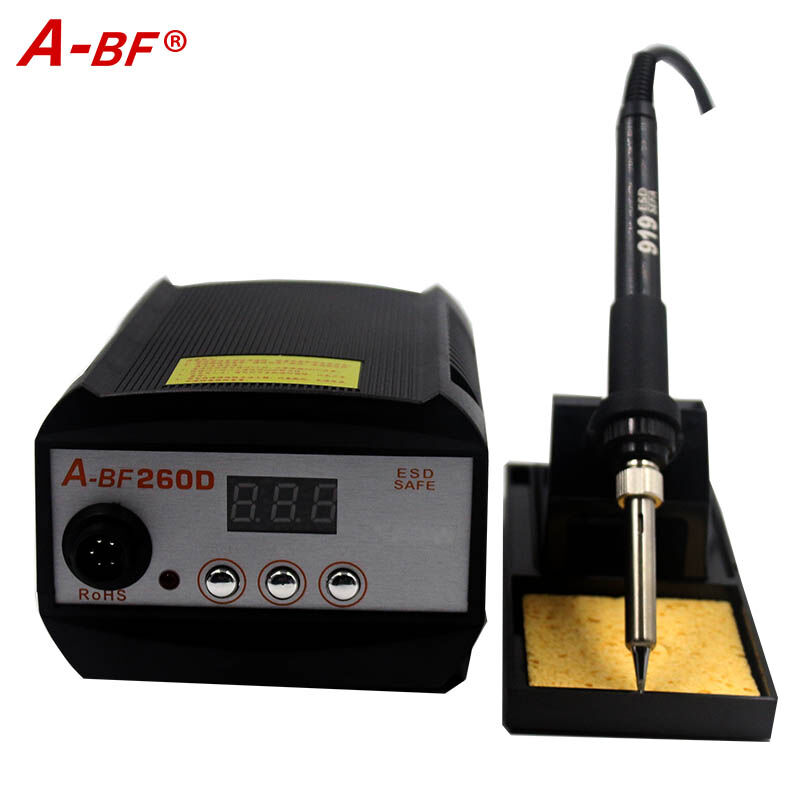 ФОТО A-BF 260 Soldering Station  Industrial electric welding station 90w high-frequency ceramic core (imported special core)