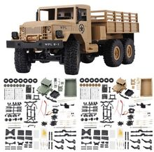 WPL B-16 B16 Off-Road RC Militaire Truck WPL upgrade KIT DIY 1:16 RC Auto Buggy RC WPL Monster truck 6WD 6 Wiel Monteren Crawler(China)