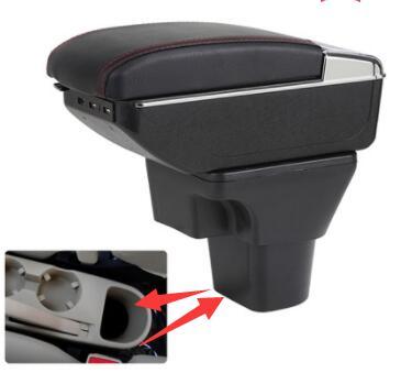 Pour Hyundai Accent main courante boîte 2006 07 08 09 11 spécial central main courante boîte modification spéciale
