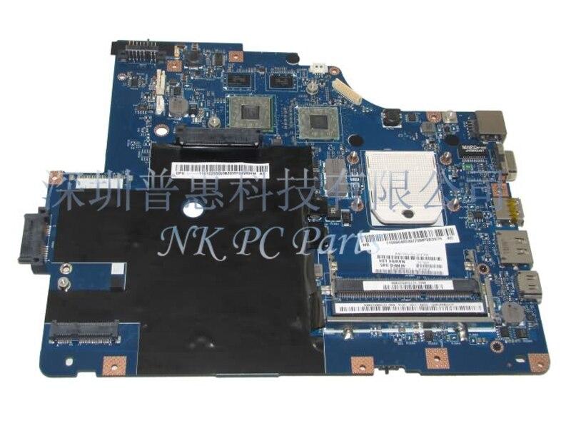 LA-5754P Main board For Lenovo G565 Z565 Laptop motherboard Socket S1 ATI HD5340 DDR3 Free CPU