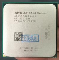 AMD PC computer CPU GPU Video carA Series APU X4 A8 5500K A8 5500K FM2 Quad Core CPU 100% working properly Desktop Processor
