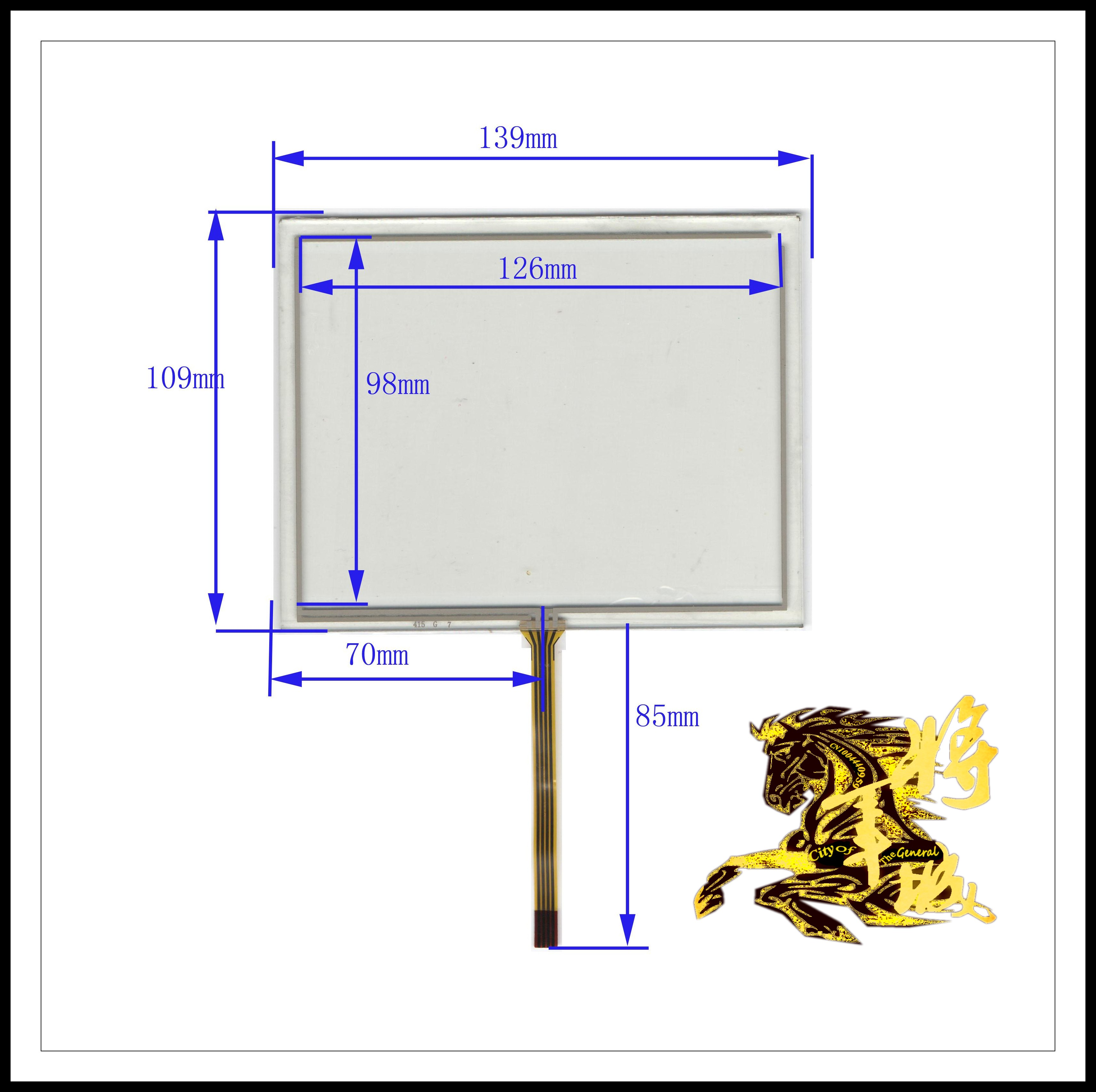 GENCTY For 5.7 inch 139 * 109 four-wire resistive screen W-X