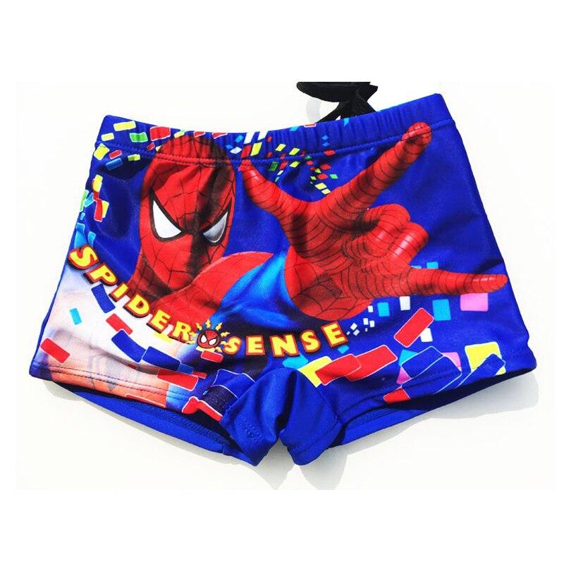 2018 New children swimsuit,boys spiderman swimwear,kids boy swimming trunks boy   shorts