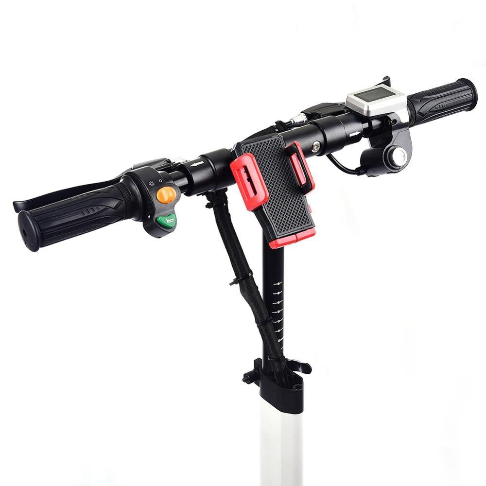 10 pouces Scooter électrique 48 V/22AH 60 km/h 1200 W alliage d'aluminium charge moto électrique coup de pied auto équilibrage Scooter adulte - 5