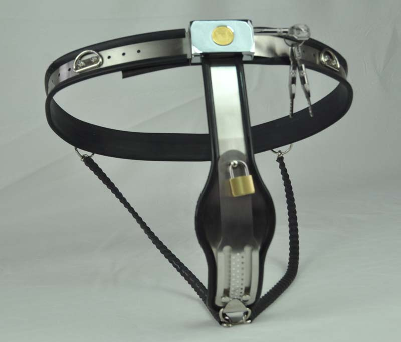 Silicone&stainless steel female chastity belt slave game,sex toys,bondagerestraints Y-type lock female chastity belt sex toysSilicone&stainless steel female chastity belt slave game,sex toys,bondagerestraints Y-type lock female chastity belt sex toys