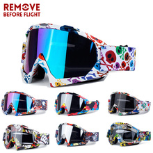 Motocross Goggles Motorcycle Oculos Cycling MX Off Road Helmet Ski Gafas Glasses For Dirt Bike Racing