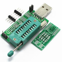 Free Shipping 1pcs Ch341a 24 25 reprogrammed dvd router bi0 s brush multifunctional usb programmer