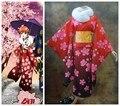 Джинтама Kagura кимоно косплей костюмы