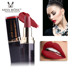 Miss Rose 42 Colors(37-42#)Matte Lipstick Makeup Lip Stick Tint  Red Lips Mattes Long Lasting Lipsticks Cosmetics