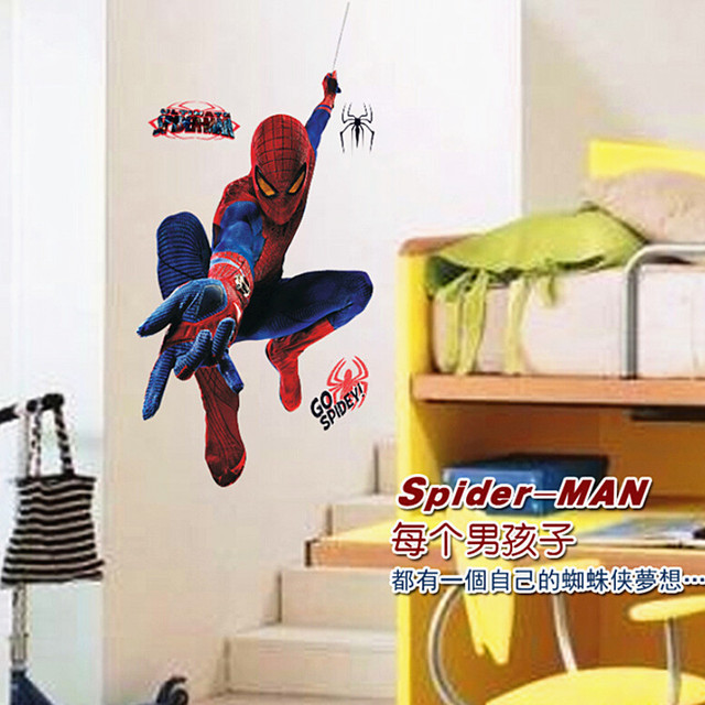 MJ8001 Amazing Spider Man European and American fashion children\'s ...