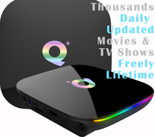 Get more info on the Qplus 6K USB3.0 HDMI2.0 Android 8.1 TV Box 4G/64GB H6 A53 Quad Core Mali-720 4GB/32GB Thousands Daily Updated Movies & TV Shows