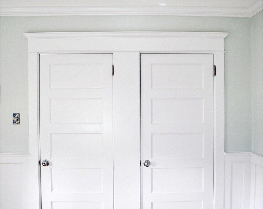 Dayar wooden front door hpd458 solid wood doors al habib panel - 2017 New Style 5 Panel Highly Durable Solid Wood Entry Door Paint Grade Interior Wooden