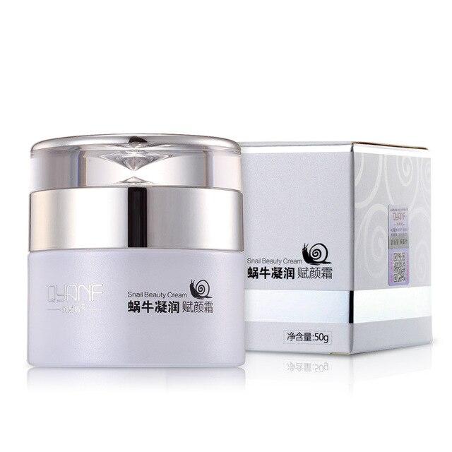 Snail Cream Korea Imported Raw Materials Whitening Face Cream Anti Aging Wrinkle Moisturizing Acne Treatment Cream Face Care 50g
