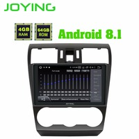 9 4GB+64GB Android 8.1 Car radio Stereo GPS Navigation Head Unit For Subaru Forester 2013 2015 Multimedia Player Built in DSP