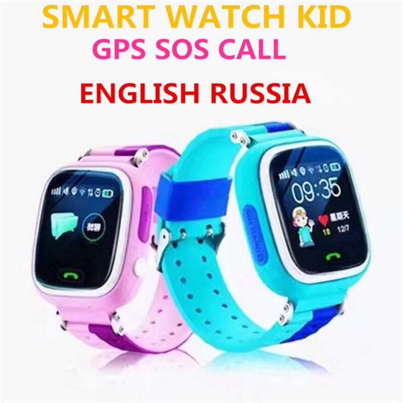 все цены на Q90 GPS Touch Screen WIFI Smart Watch Child SOS Location Finder Device Tracker Kid Safe Anti Lost Monitor Smartwatch Clock F22 онлайн