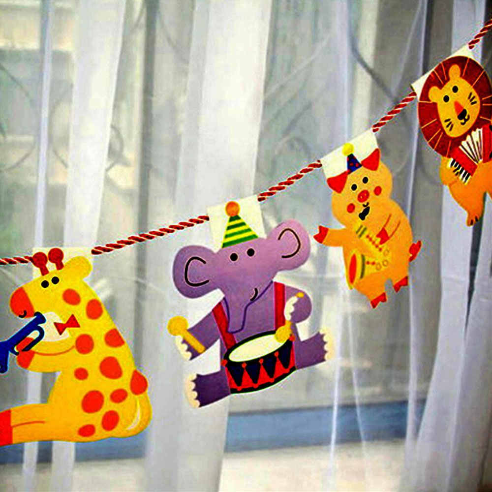 Birthday party supplies for kids 2m 15pcs pack happy for Baby shower decoration packs