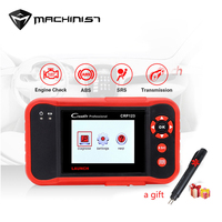CRP123 Car Inspection Tools Free Update Online X431 CRP 123 ABS/SRS/GearBox/Engine Car Code Reader And Scanner