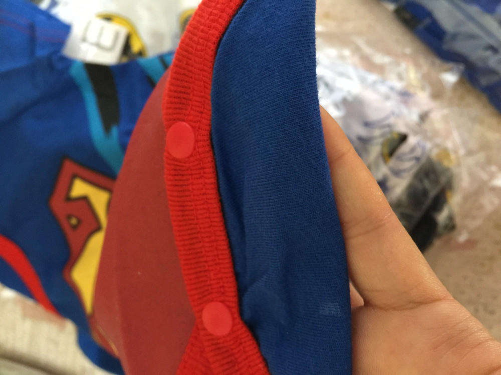 Baby Boy Superman & Batman Costume