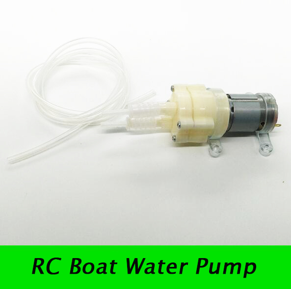 Free Shipping RC Boat/Feeding Boat Water Pump Spare Parts For RC Boat Motor/ESC Water Cooling System cnc aluminum water cooling jacket for 29cc zenoah engine rc boat
