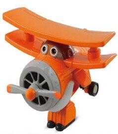12 стилей, мини Супер Крылья, деформация, мини реактивный ABS робот, игрушка, фигурки, Супер крыло, трансформация, игрушки для детей, подарок - Цвет: No box Albert